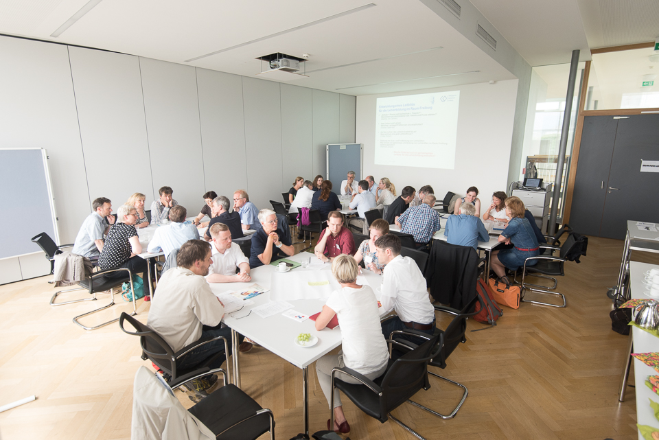 Arbeit in Kleingruppen der Community of Practice