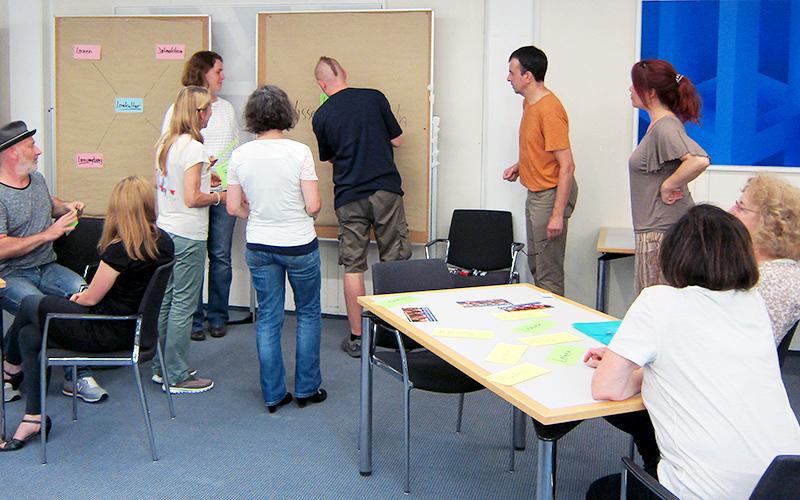 """Erster Qualitätszirkel: """"Lernkultur für Kompetenzerwerb – vermitteln und beraten"""""""