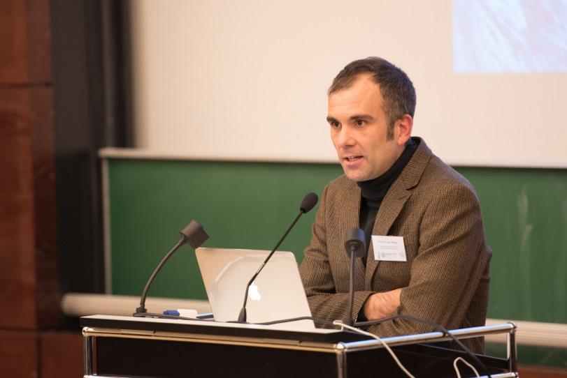 Prof. Dr. Jörg Wittwer bei der Ringvorlesung