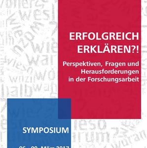 """Symposium """"Erfolgreich Erklären?!"""""""