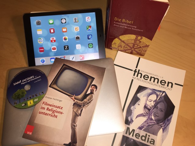 Medienbildung im Religionsunterricht gewinnt zunehmend an Bedeutung.