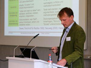 Vortrag von Prof. Dr. Tobias Leonhard (PH der FH Nordwestschweiz)