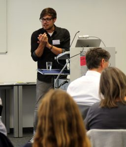 Workshop von Dr. Benjamin Dreer (Univerisität Erfurt)