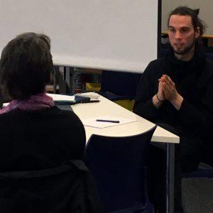 """Gastbeitrag von Thorsten Mehl in der Forschungswerkstatt """"Rekonstruktive Inklusions- und Differenzforschung"""""""