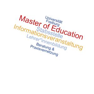 Informationsveranstaltung Master of Educatio Stabsstelle Lehrer*innenbildung Team 2 Beratung & Praxisvernetzung