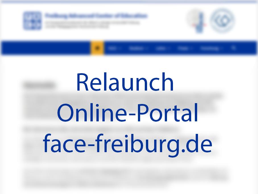 Relaunch Online-Portal face-freiburg.de