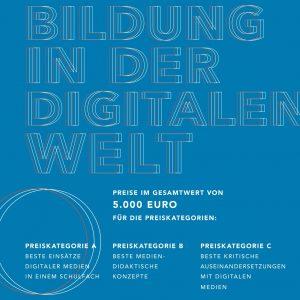 """Flyer Wettbewerb """"Bilder in der digitalen Welt"""""""