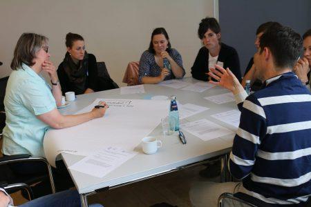 5. FACE-Gesamtprojekttreffen, Gruppenarbeit
