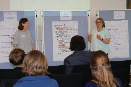 5. FACE-Gesamtprojekttreffen, Präsentation Gruppenarbeit