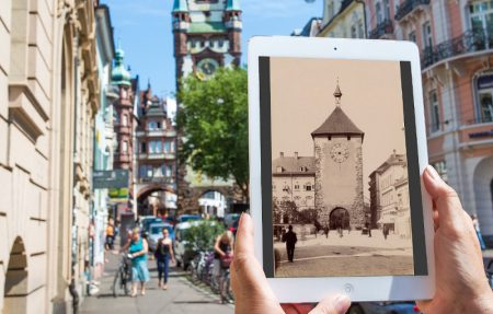 App Future History Beispiel Freiburg