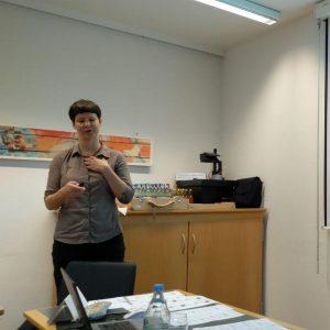 Prof. Grit Mehlhorn vom Institut für Slavistik der Universität Leipzig zu Gast in Freiburg