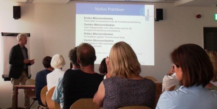 Michael Thimm (Albert-Ludwigs-Universität Freiburg, Zentrum für Schlüsselqualifikation und Institut für Erziehungswissenschaft)