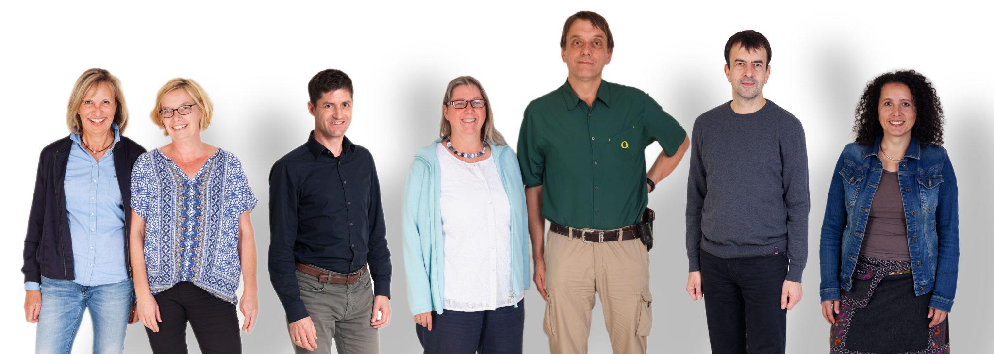 Das Team im und um das Freiburger Praxiskolleg