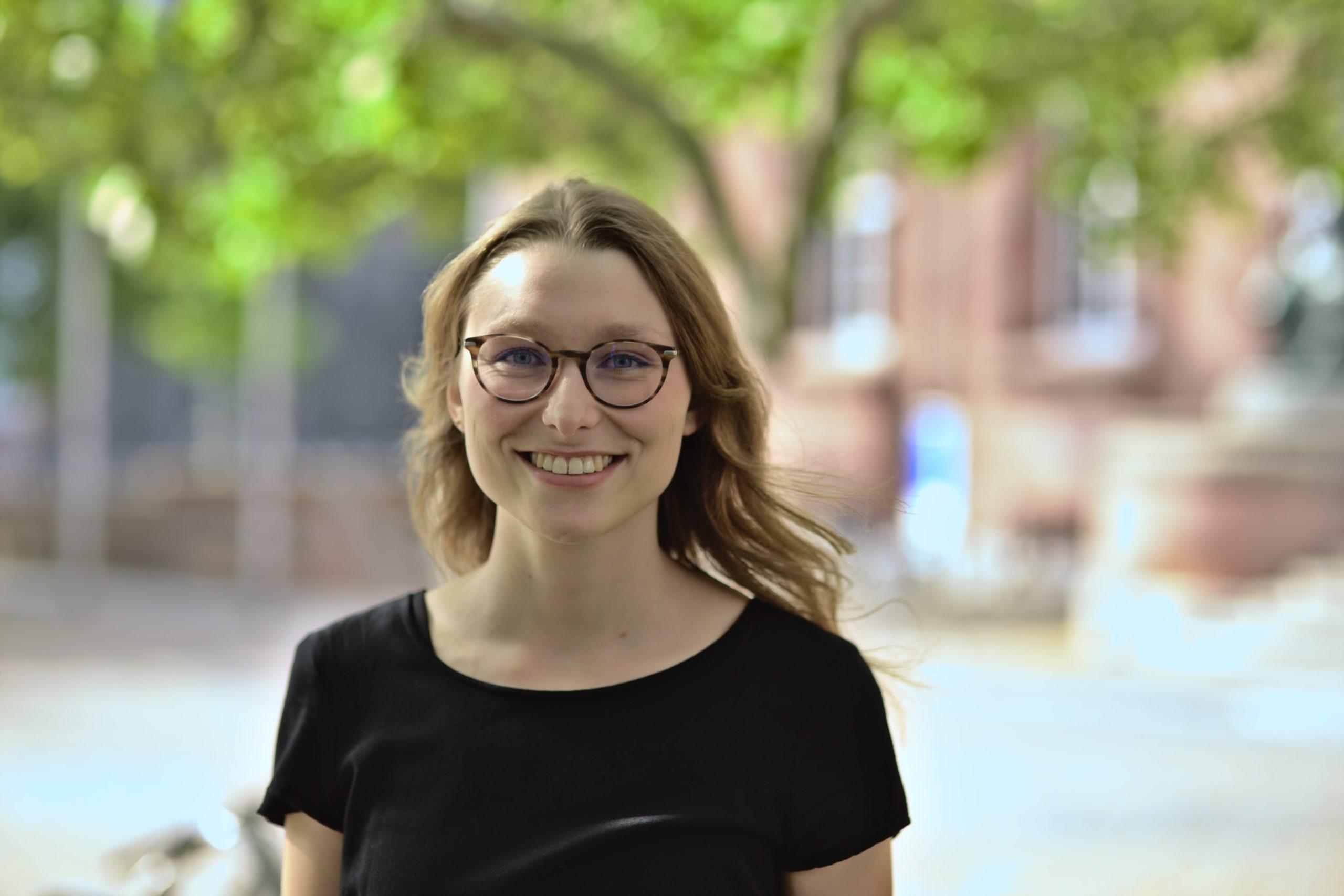 Madeleine Bergmann, Referentin im Lehramtsreferat, Foto: Ludwig Striet