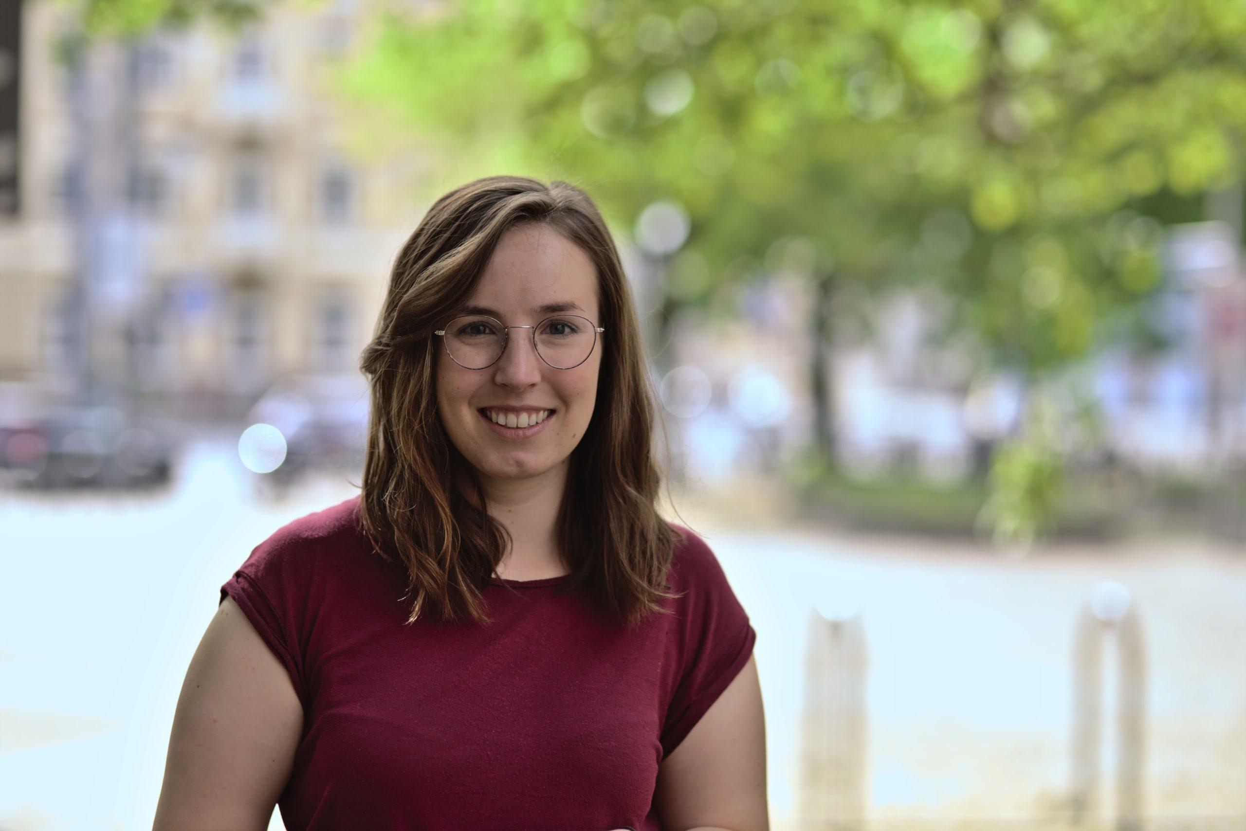 Mareike Bergmann, Referentin im Lehramtsreferat, Foto: Ludwig Striet