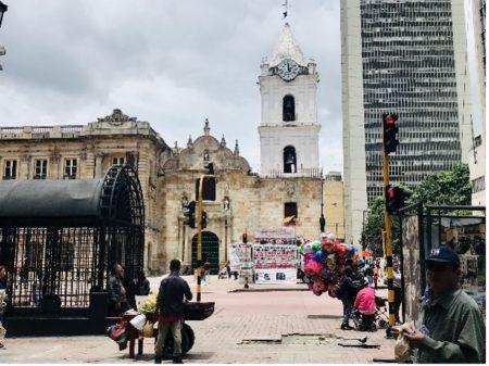 Calle Séptima im historischen Zentrum