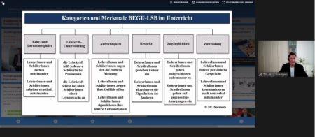"""Screenshot der Online-Fortbildung """"Gestaltung von Lehrer*in-Schüler*in-Beziehungen im Präsenz- und Distanzunterricht"""""""