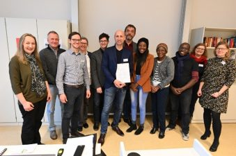 Foto 3_Mooswaldschule empfängt Delegation der University of Namibia